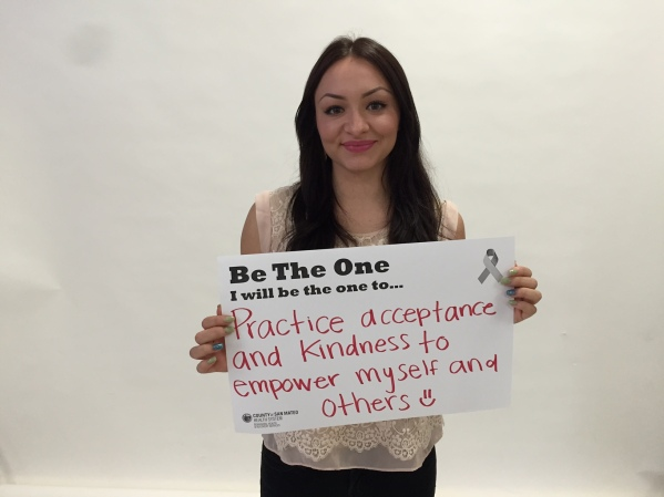 Practice acceptace and kindness to empower myself and others