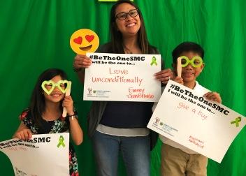 Help others - Sarafina, San Bruno; Love unconditionally - Emmy, San Bruno; Give a hug - Elijah, San Bruno