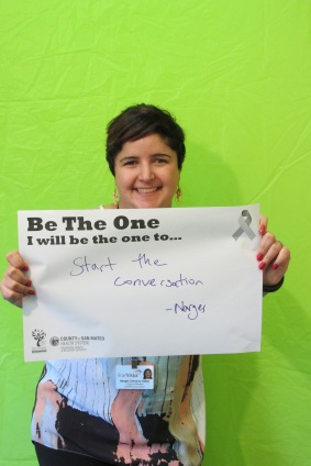 Start the conversation - Narges