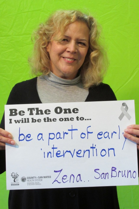 Be part of early intervention - Zena, San Bruno