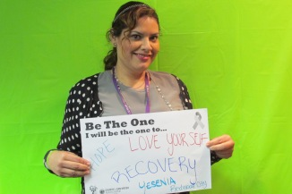 Hope, Love Yourself, Recovery - Yesenia, Redwood City
