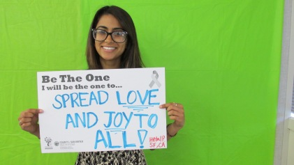 Spread love and joy to ALL! - Hetal, S.F.