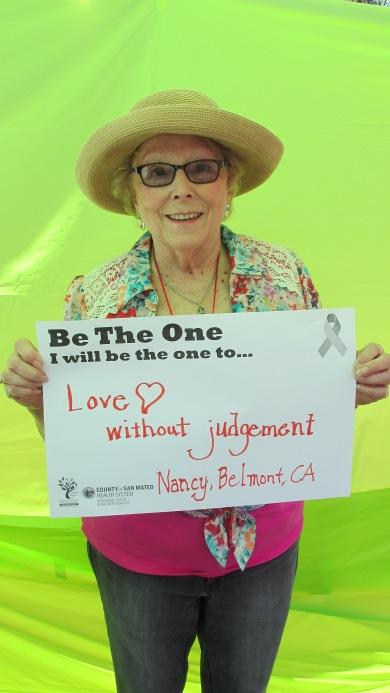 Love without judgement - Nancy, Belmont