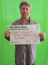 Support religious and spiritual practices without discrimination - Dan, SF
