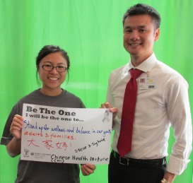 Stand up for wellness and balance in our youth, adults and families - Steve and Syvia, Chinese Health Initiative