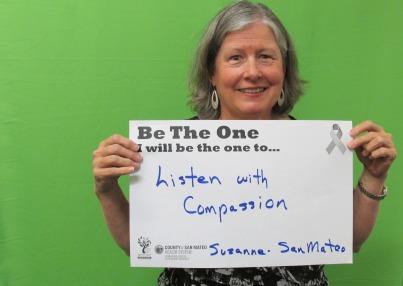 Listen with compassion - Suzanne, San Mateo