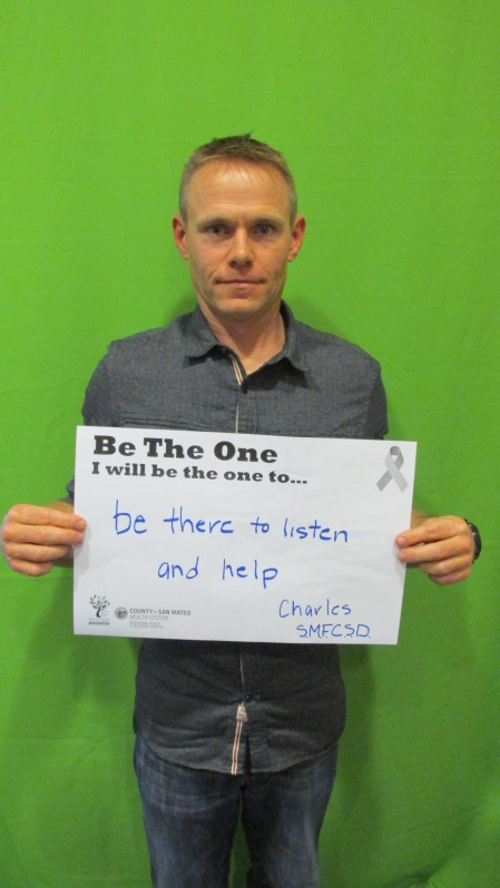 Be there to listen and help - Charles, SMFCSD
