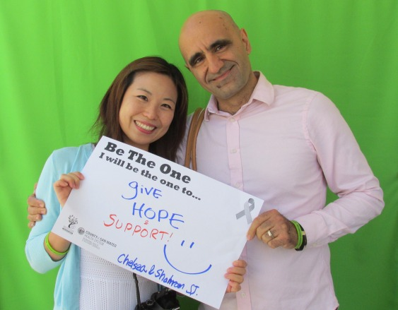 Give hope and support - Chelsea and Shalrram, San Jose