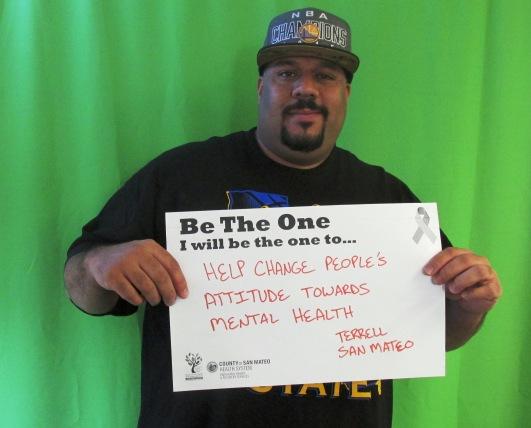 Help change people's attitude towards mental health - Terrell, San Mateo