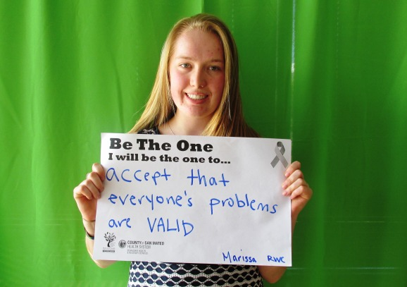 Accept that everyone's problems are VALID. -Marissa, RWC