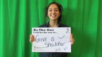 Give a shoulder, A.V., HMB