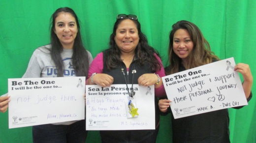 Not judge them, Alina, Newark; Not judge & support theri personal journey, Marie, Daly City