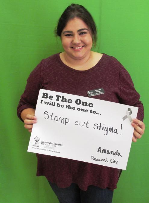 Stamp Out Stigam! - Amanda, Redwood City