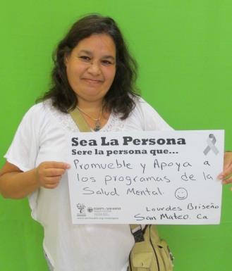 Promueble y apoya a los programas de la salud mental - Lourdes, San Mateo