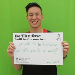 Provide fun health education and safe space for the community - Jimmy, SSF