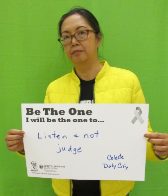 Listen and not judge - Celeste, Daly City
