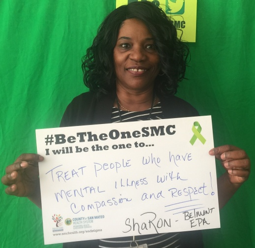 Treat people who have mental illness with compassion and respect! - Sharon, Belmont, EPA
