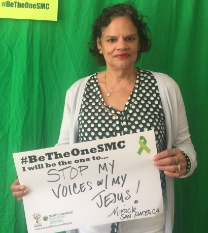 Stop my voices with my Jesus - Mirack, San Mateo