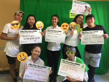 Remove stigma around mental health - Kristie, San Mateo County; Spread awareness through art! - Jaelyn, Foster City; Make people laugh - Andrea, Foster City; Lend a helping hand to those who need it! - Devon, Millbrae; Make people happy with dancing - Hikaru, San Mateo; To spread the love to those who feel like they have none - Mimi, San Fransisco