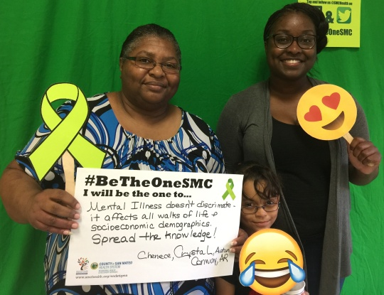 Mental illness doesn't discriminate - it affects all walks of life and socioeconomic demographics. Spread the knowledge! - Chenece, Crystal and Autumn; Conway, AR