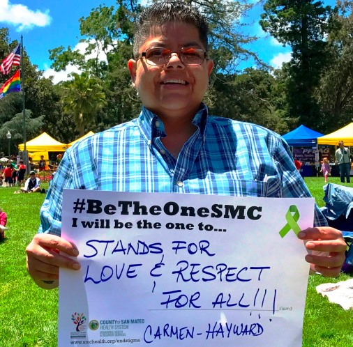 Stand for love and respect for all!!! - Carmen, Hayward