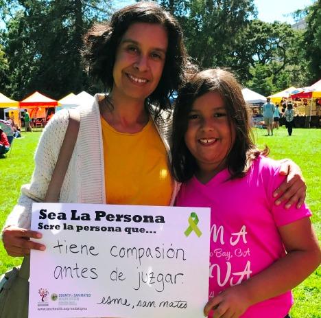 Have compassion before judging - Esme, San Mateo