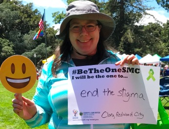 End the stigma - Clara, Redwood City