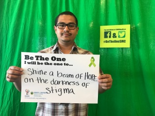 Shine a beam of hope on the darkness of stigma
