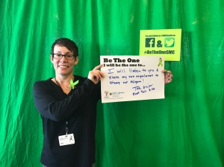I will listen to you and share my own experiences to stamp out stigma! - Tina, East Palo Alto