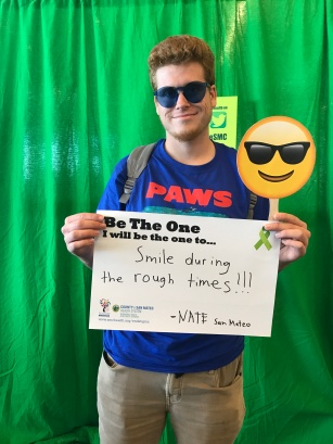 Smile during the rough times - Nate, San Mateo