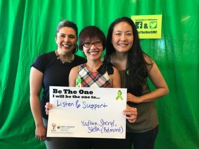 Listen and support - Yadhira, Sheryl, Stella, Belmont