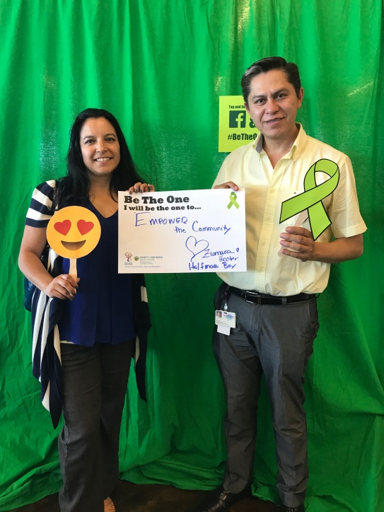 Empower the community - Ziomara and Hector, HMB