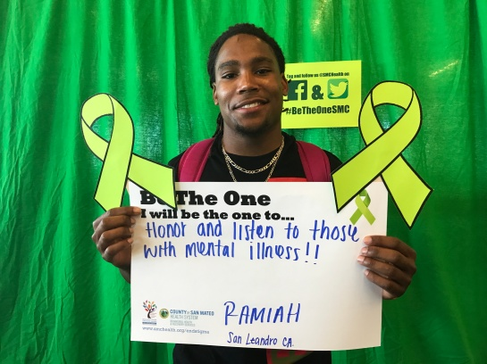 Honor and listen to those with mental illness - Ramiah, San Leandro