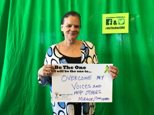 Overcome my voices and help others - Miracie, San Mateo