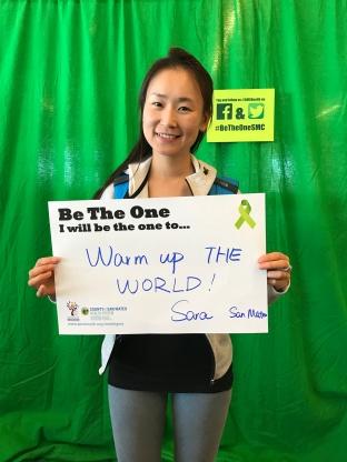 Warm up the world - Sara, San Mateo
