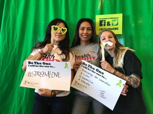 #spreadlove; encourage open communciation, listen, normalize, educate - Chris, Sara, Erin, Ashley