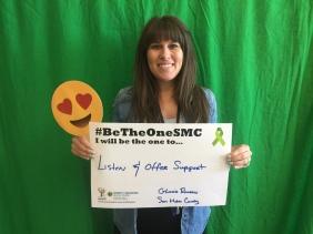 Listen & offer support - Gloria Romero, San Mateo County