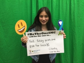 Not stay quiet, and ask for help – Claudia, East Palo Alto