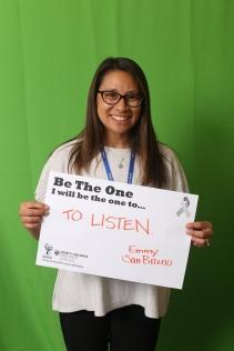 To listen! - Emmy, San Mateo