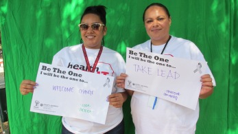 Welcome change - Losa, Pacifica; Take lead - Ernestine, San Mateo