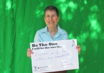 Listen and to offer my support - Diane, San Mateo