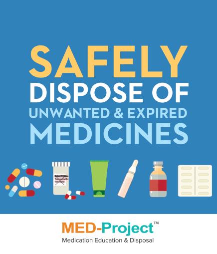safe med disposal graphc