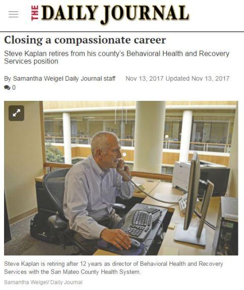 Steve Kaplan SMDJ Article