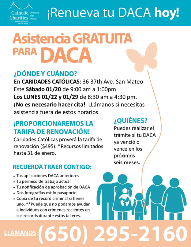 DACA Assistance Spanish